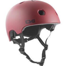 TSG Meta Solid Color Casco, satin oxblood